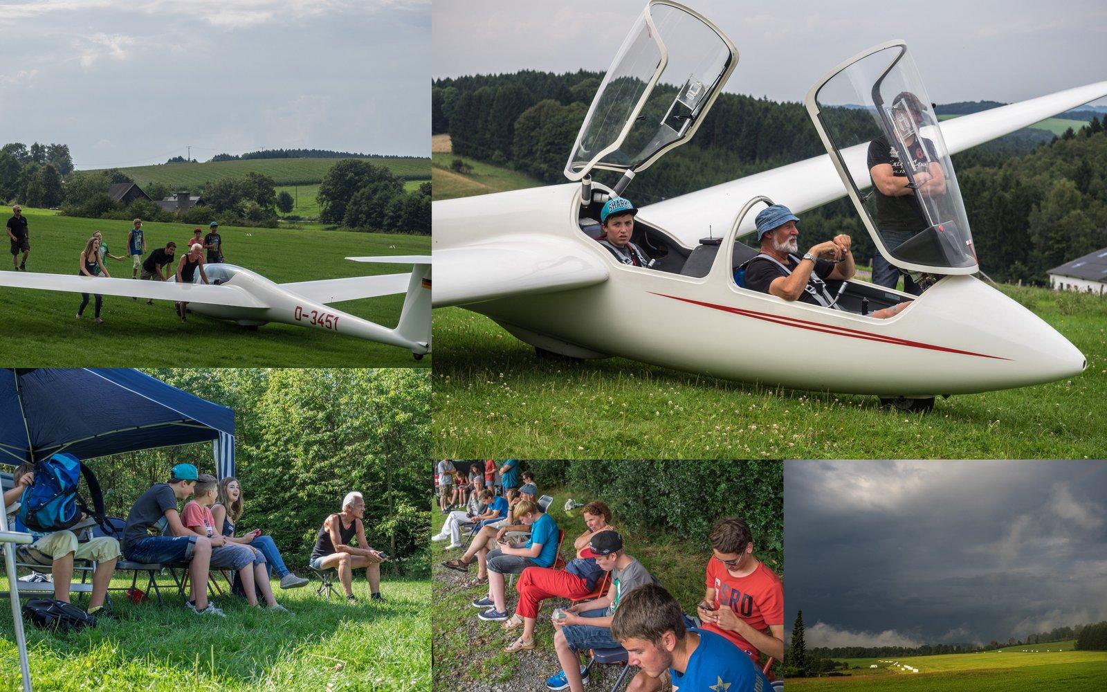 Ferienspaß 2014 auf dem Segelflugplatz Lindlar