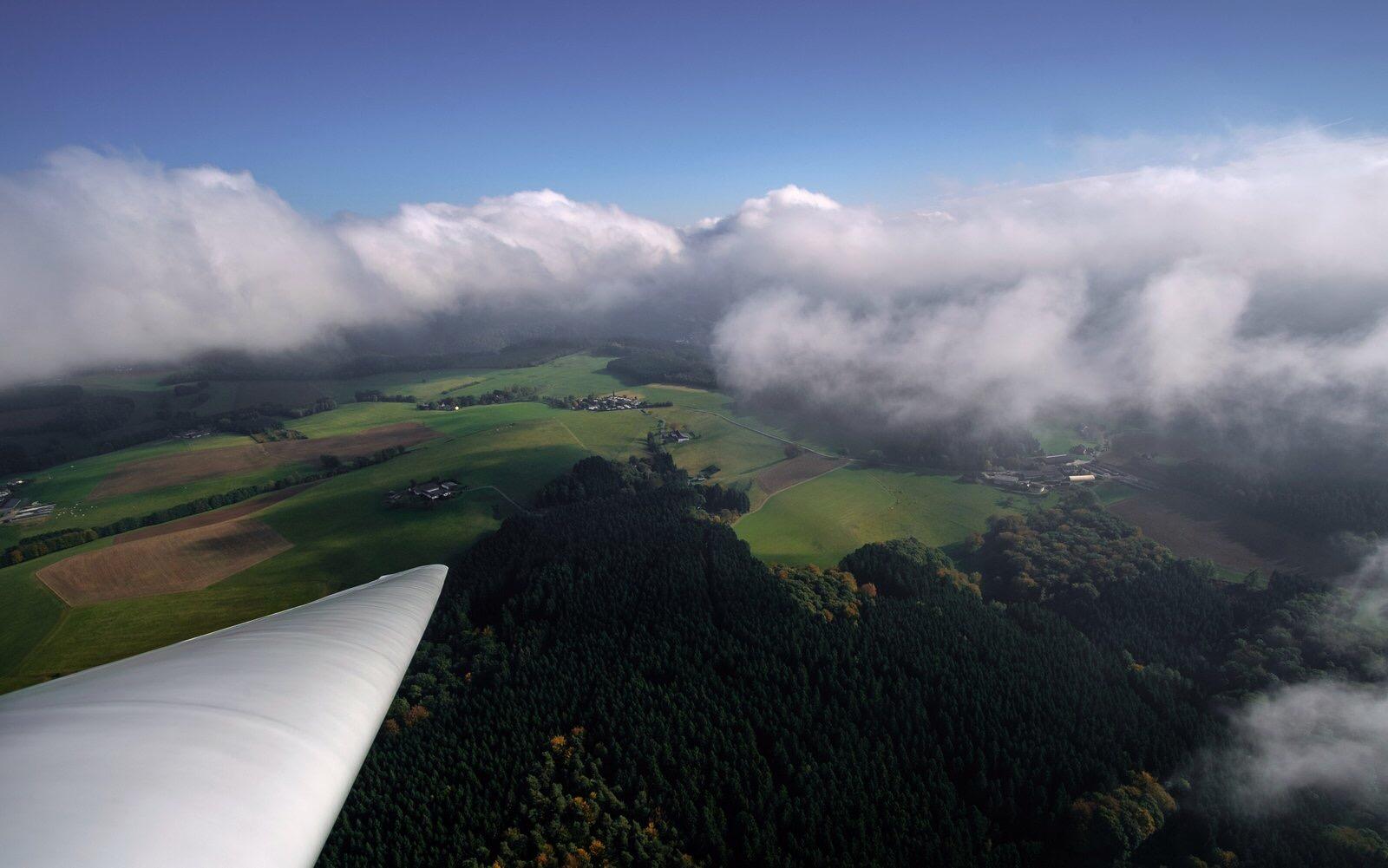 Fliegerlager in der Schwäbischen Alb