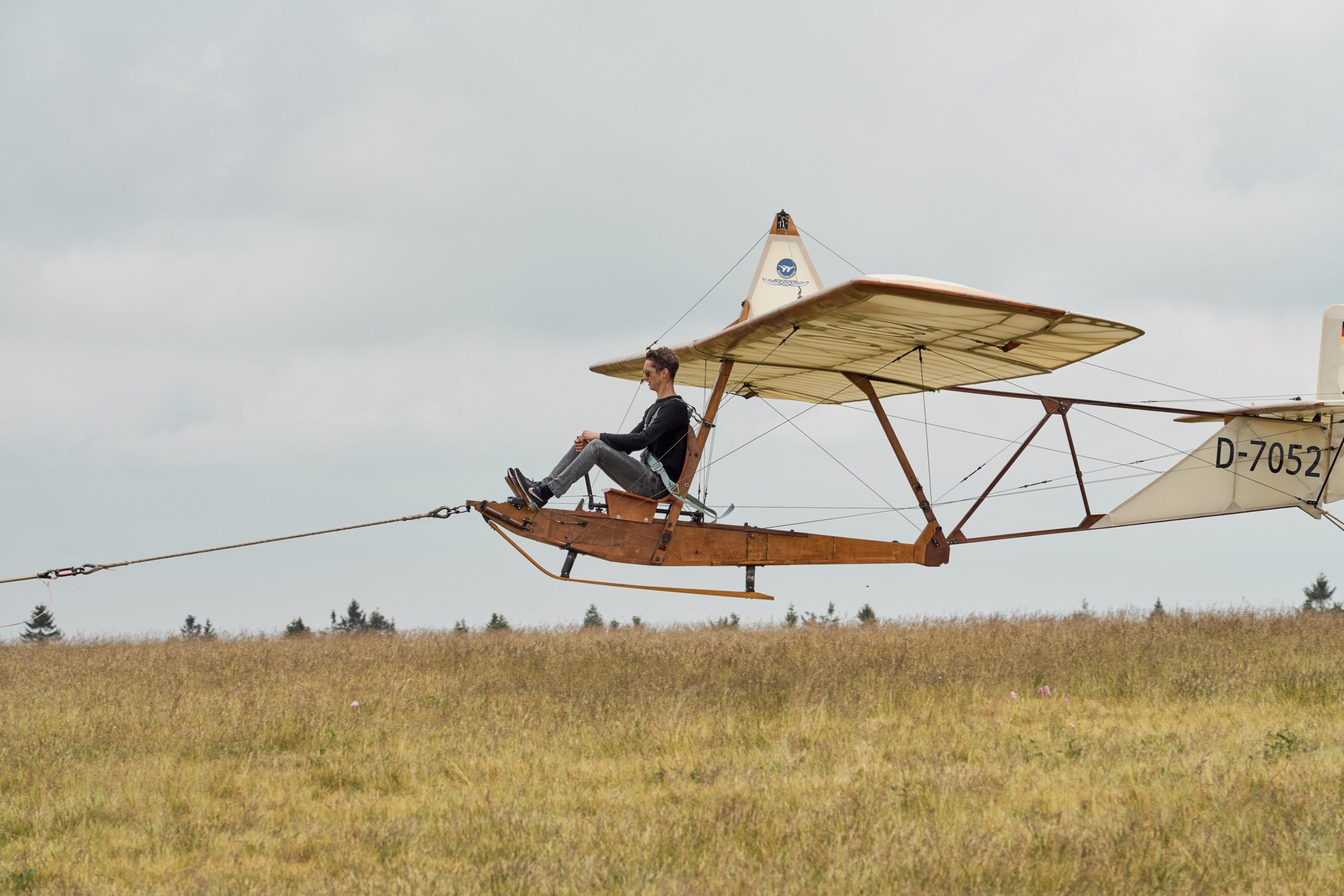 Oldtimer fliegen auf der Wasserkuppe